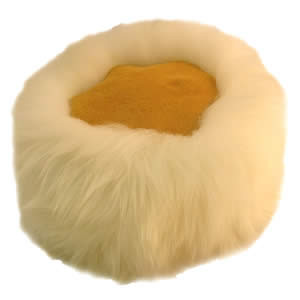 sheepskin natural cossack hat