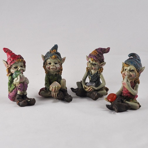pixie children of the forest set of 4pcs