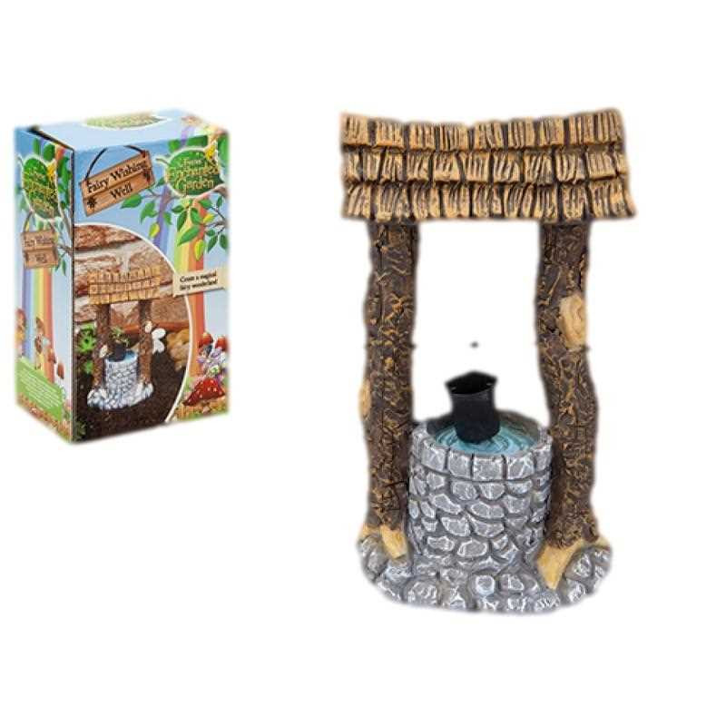 Fairy Garden Wishing Well Ornament