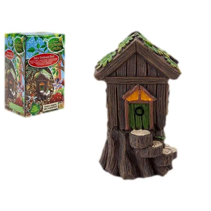 Fairy Treehouse Hotel Garden Decoration