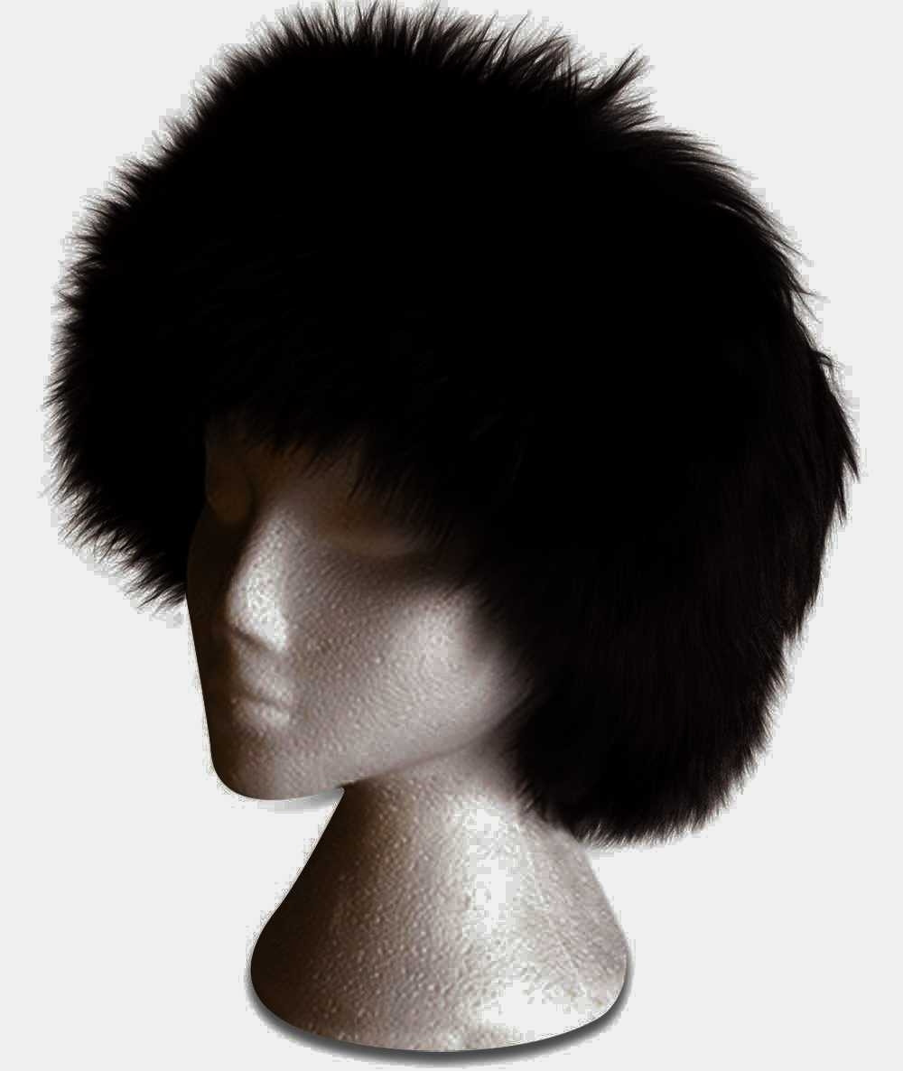 Sheepskin blk Coassack Hat