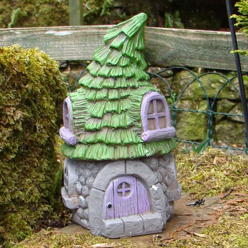 Pixieland Secret Fairy Garden Conifer House
