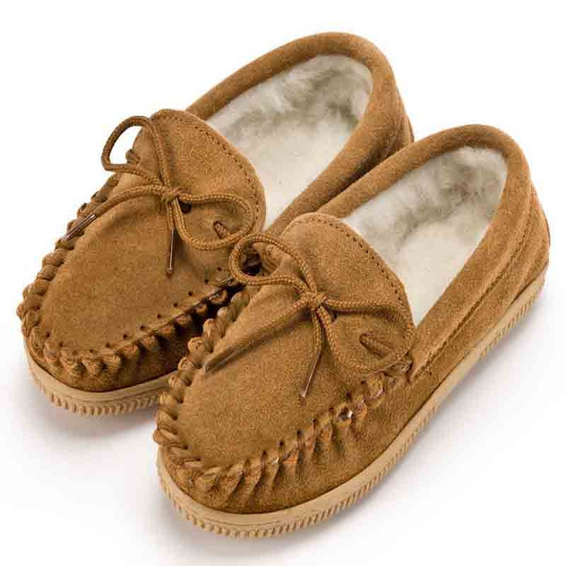 Boys Biscuit Mocassins