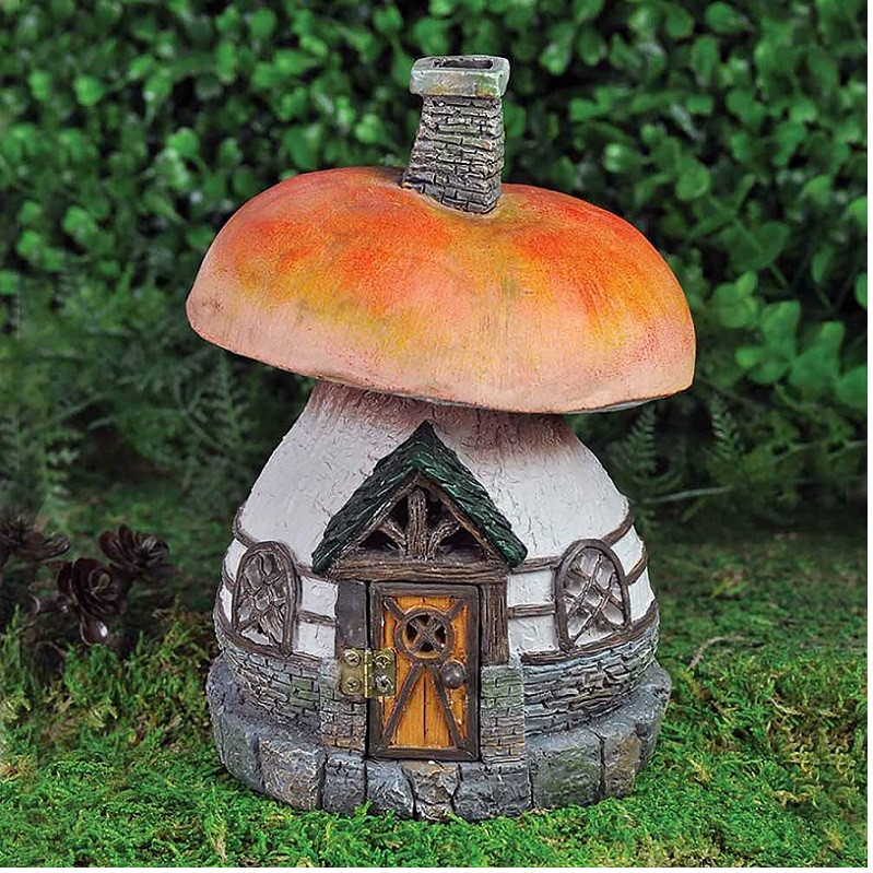 Fairy Garden Mushroom Cottage Home