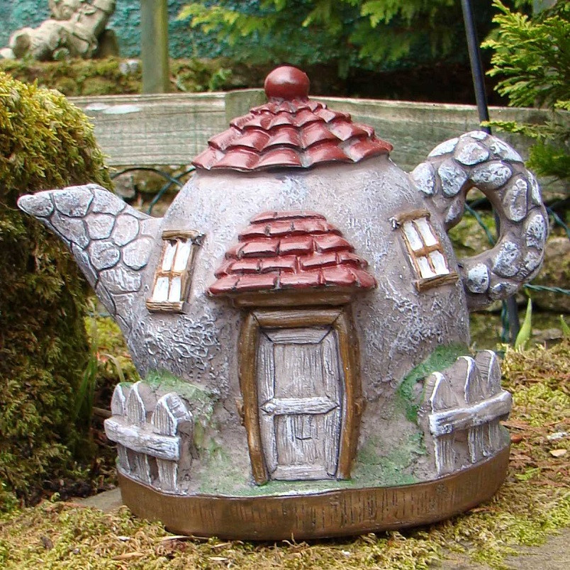 Pixieland Secret Fairy Garden Teapot House