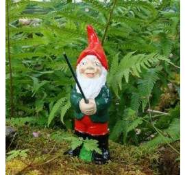 Fishing gnome Alfie by Pixieland