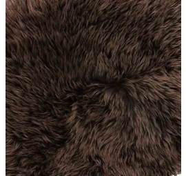 Chocolate Brown Sheepskin