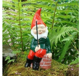 Fishing Gnome Humpty by Pixieland