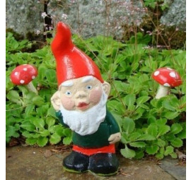 Garden gnome Ike by Pixieland