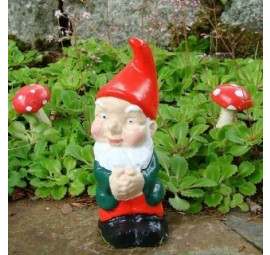 Merlin the garden gnome by Pixieland