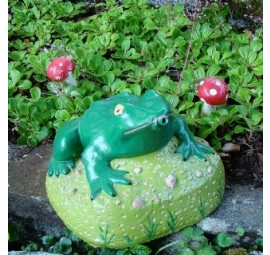 frog water feature