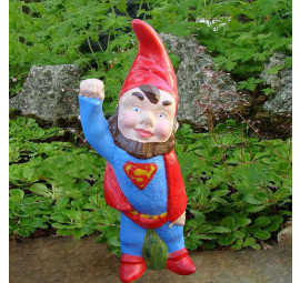 Super Hero Gnome Superman