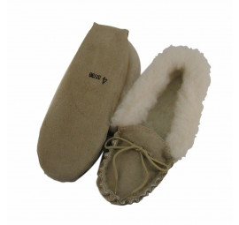 luxury sheepskin slipppers