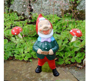 Garden gnome Charles front view