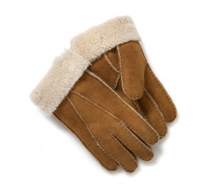 Tan Sheepskin Gloves