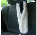 45cm Sheepskin Seatbelt Cover