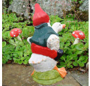Garden gnome Andrew and Duck Rear