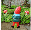 Garden gnome Charles rear view