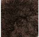 Dark Chocolate Sheepskin