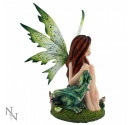 Nemesis Now Evergreen Figurine Green Dragon Fairy Ornament