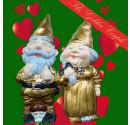 Golden Wedding Gnomes