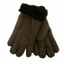 Ladies Tan Sheepskin Gloves