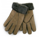 Ladies Fawn Sheepskin Gloves