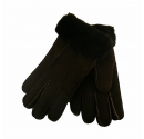 Ladies Chocolate Sheepskin Gloves