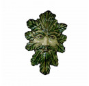 Large Green Man Plaque