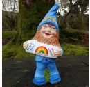 NHS and key worker thank you gnome