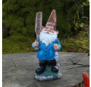 Hartley Garden Resin Gnome Ornament - 25.5cm