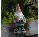 Cheeky Charlie Garden Resin Gnome Ornament - 24.5cm