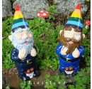 Made to order wedding garden gnomes Gay Pride