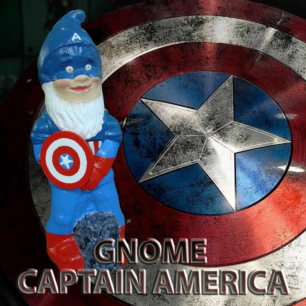 Gnome Captain America