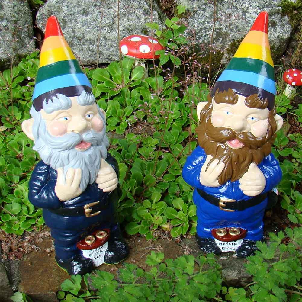 gay pride gnomes