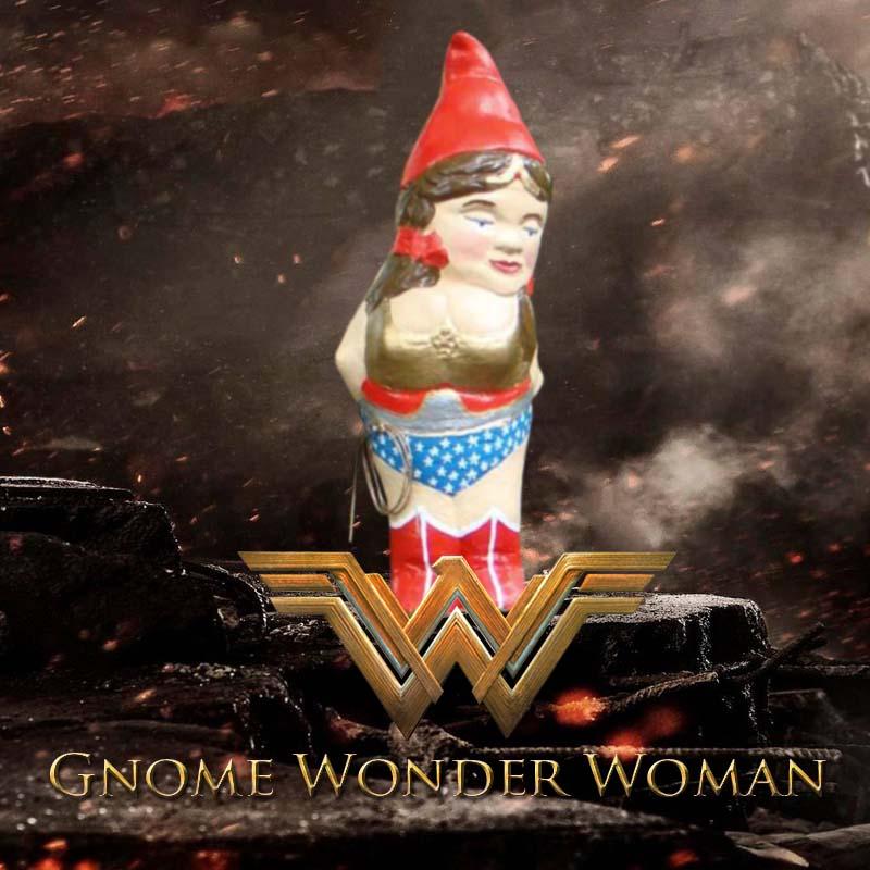 Gnome Wonder Woman