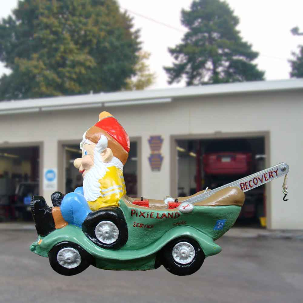 Recovery vehicle gnome