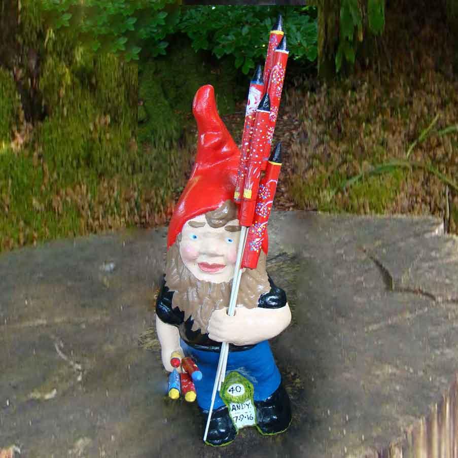 Rocket Man Gnome