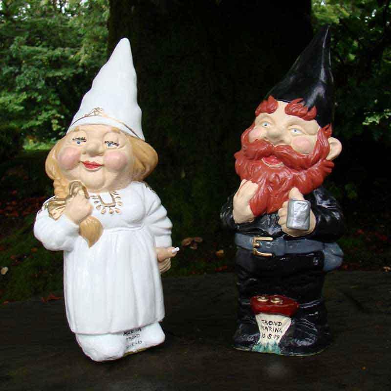 rolling pin bride gnome