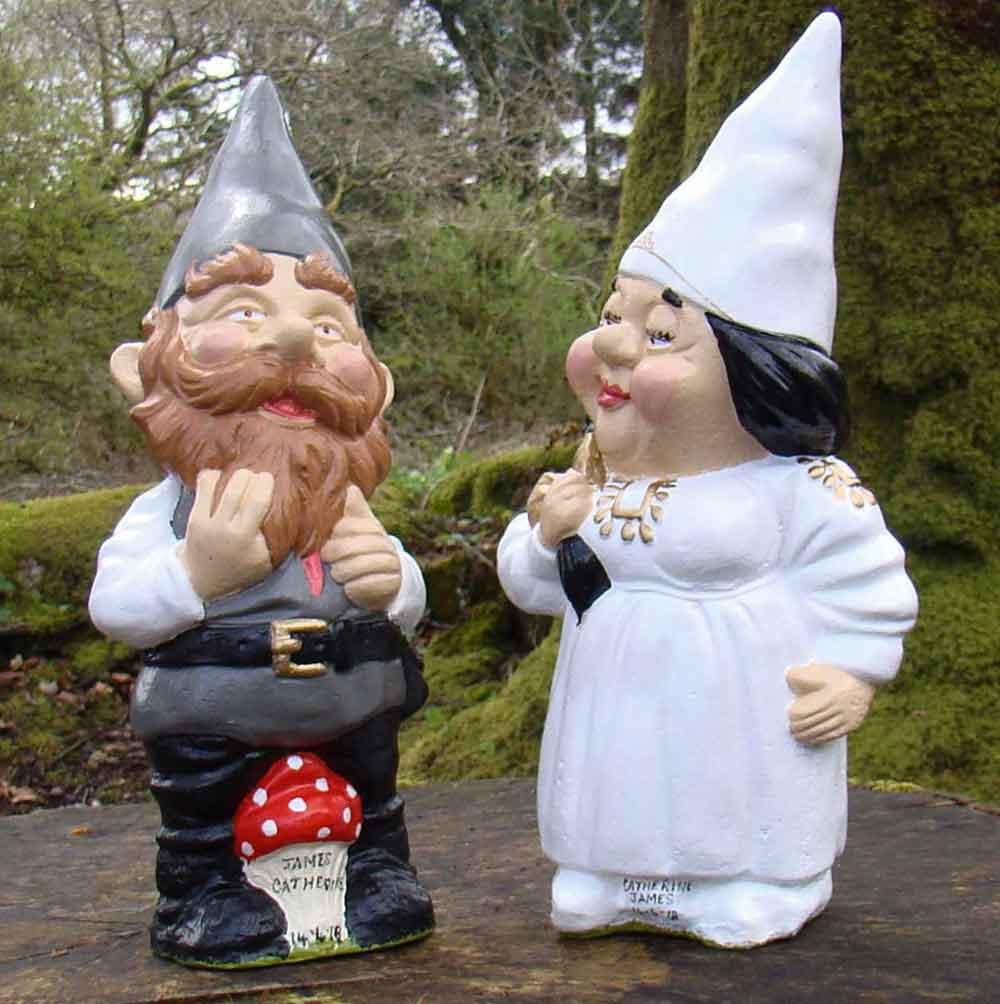 Waistcoat Groom Gnome