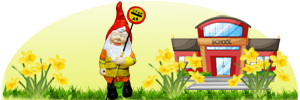 Made to Order Lollipop Man Garden Gnome